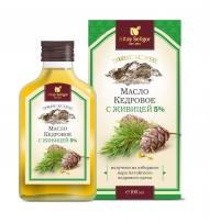 Cedar Nut Oil with Cedar Turpentine Altay-Seligor 100 ml